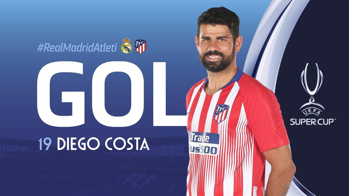 TRỰC TIẾP Real Madrid 0-1 Atletico Madrid: Diego Costa lập công (Hiệp một) - Bóng Đá