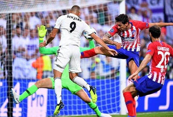 TRỰC TIẾP Real Madrid 1-1 Atletico Madrid: Benzema gỡ hòa (Hiệp một) - Bóng Đá
