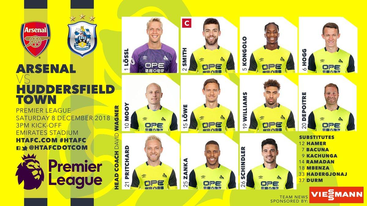 TRỰC TIẾP Arsenal vs Huddersfield: Đội hình dự kiến - Bóng Đá