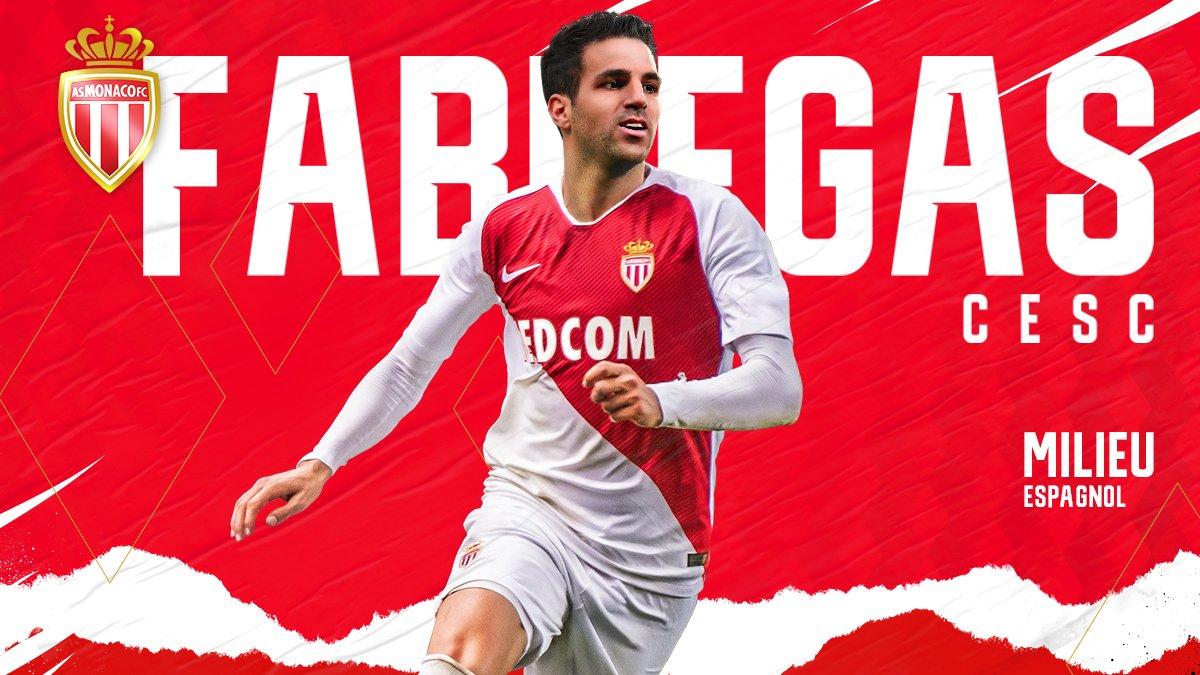 Chính thức: Fabregas ra mắt Monaco - Bóng Đá