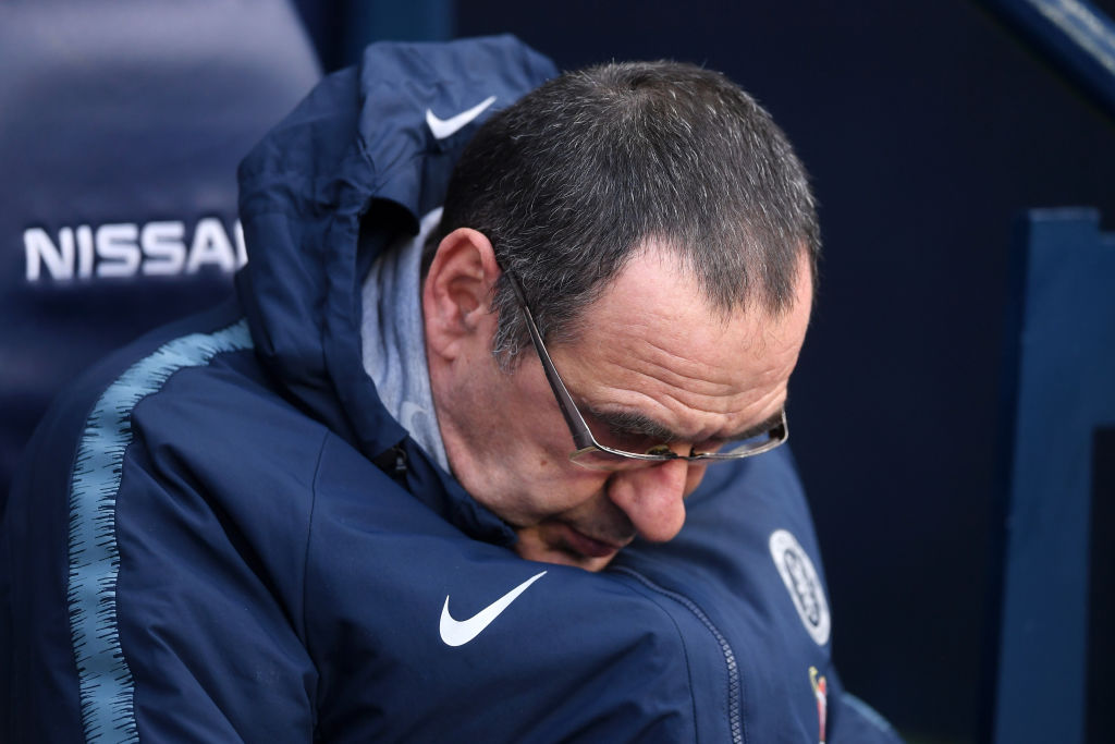 4 sai lầm của Sarri tại Chelsea - Bóng Đá