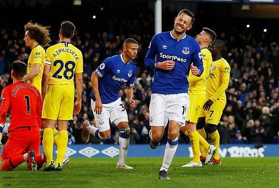 TRỰC TIẾP Everton 2-0 Chelsea: Phạt đền tai hại (H2) - Bóng Đá