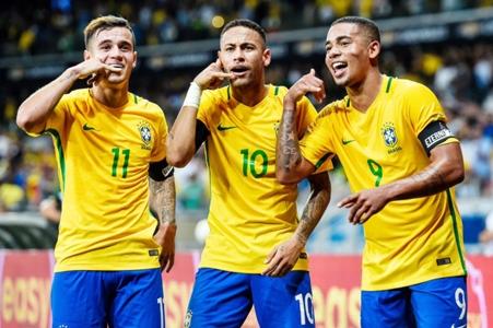 Dự đoán đội hình Brazil - Bóng Đá