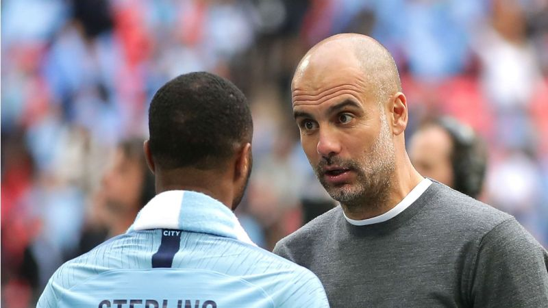 Pep không muốn Sterling ăn cắp bàn thắng của Jesus - Bóng Đá