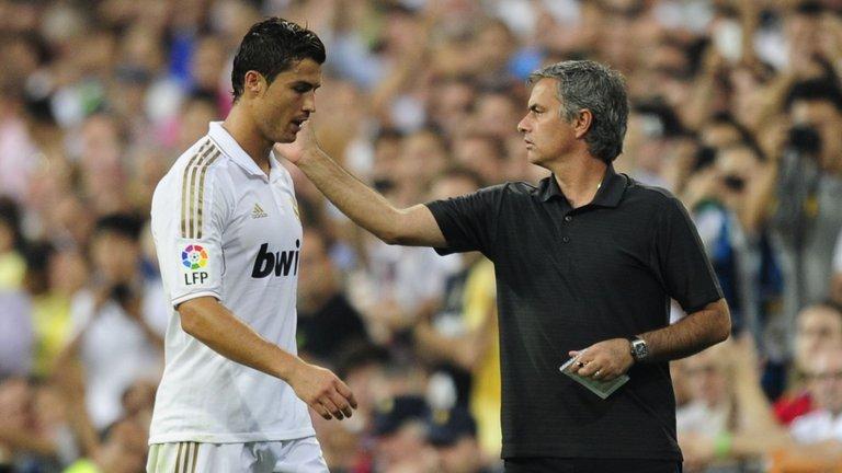 Ronaldo mời gọi Mourinho đến Juventus - Bóng Đá