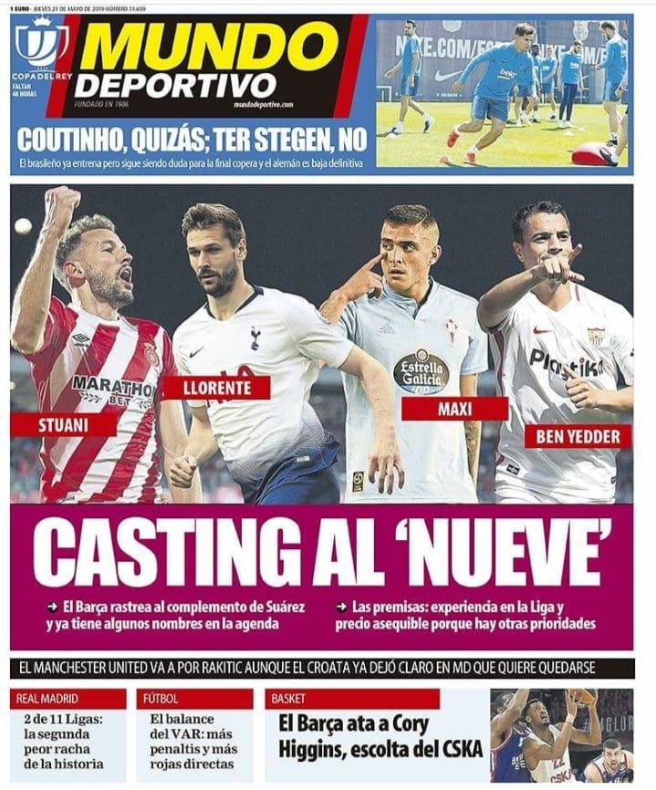 4 ứng viên thay thế Suarez - Bóng Đá