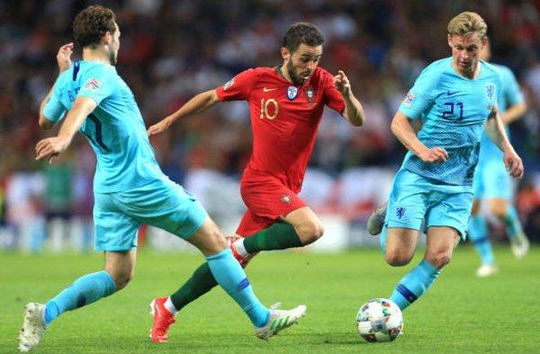 Ronaldo không vui vì Bernardo Silva - Bóng Đá
