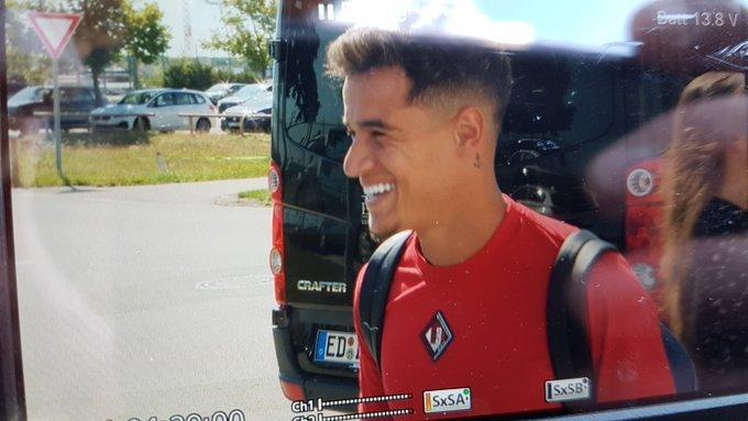 tiết lộ số áo của Coutinho - Bóng Đá