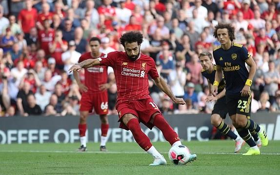 TRỰC TIẾP Liverpool 2-0 Arsenal: Salah nhân đôi cách biệt (H2) - Bóng Đá