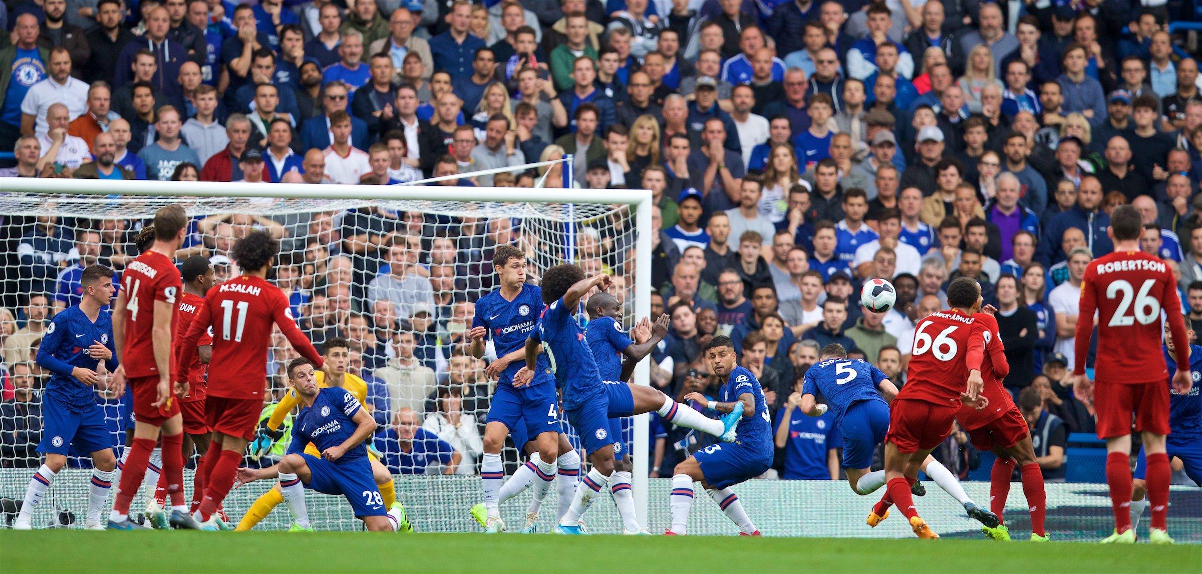 TRỰC TIẾP Chelsea 0-1 Liverpool: Siêu phẩm sút xa mở tỷ số (H1) - Bóng Đá