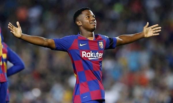 Ansu Fati lên U21 Tây Ban Nha - Bóng Đá