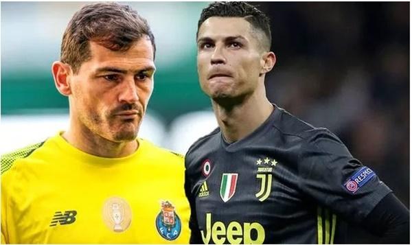 Casillas không muốn Ronaldo dành qbv - Bóng Đá
