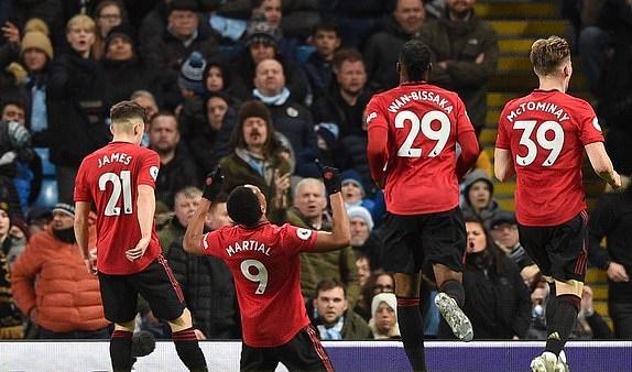 TRỰC TIẾP Man City 0-2 Man Utd: Chủ nhà gặp khó (Hết H1) - Bóng Đá
