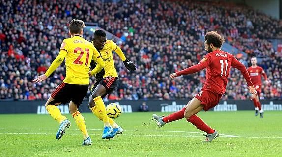 TRỰC TIẾP Liverpool 1-0 Watford: Mohamed Salah mở điểm (Hết H1) - Bóng Đá