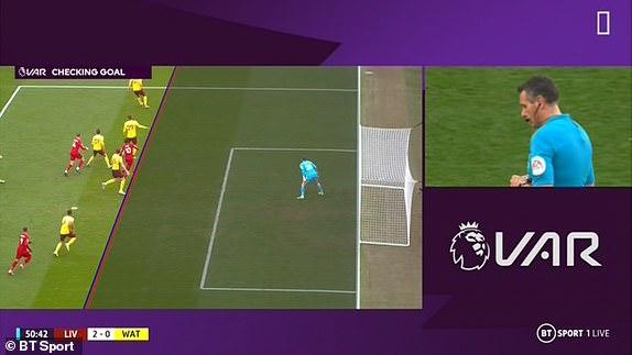 TRỰC TIẾP Liverpool 1-0 Watford: VAR từ chối bàn thắng (H2) - Bóng Đá