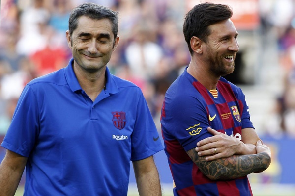Messi gửi lời tri ân Valverde - Bóng Đá