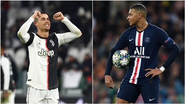 Ronaldo khen ngợi Mbappe - Bóng Đá
