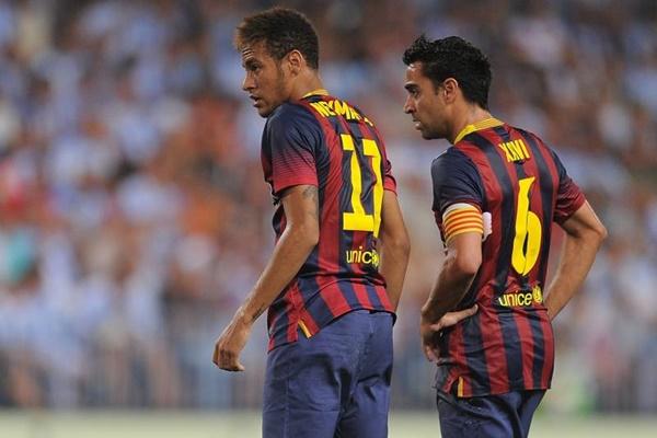 Xavi muốn Barca mua lại Neymar - Bóng Đá