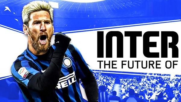 Inter đưa Lautaro Martinez đổi Messi - Bóng Đá