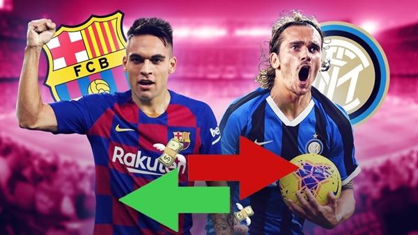 Inter muốn Barca đưa Antoine Griezmann ra trao đổi - Bóng Đá