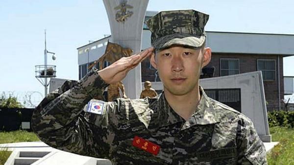 Son Heung-min hoàn thành nghĩa vụ quân sự - Bóng Đá