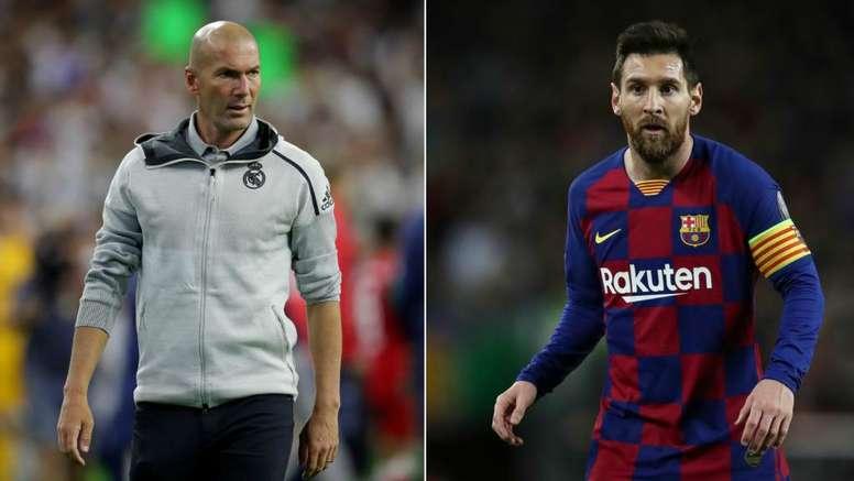 Zidane hy vọng Messi ở lại La Liga - Bóng Đá