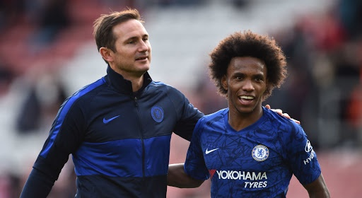 Willian muốn gắn bó với Chelsea - Bóng Đá