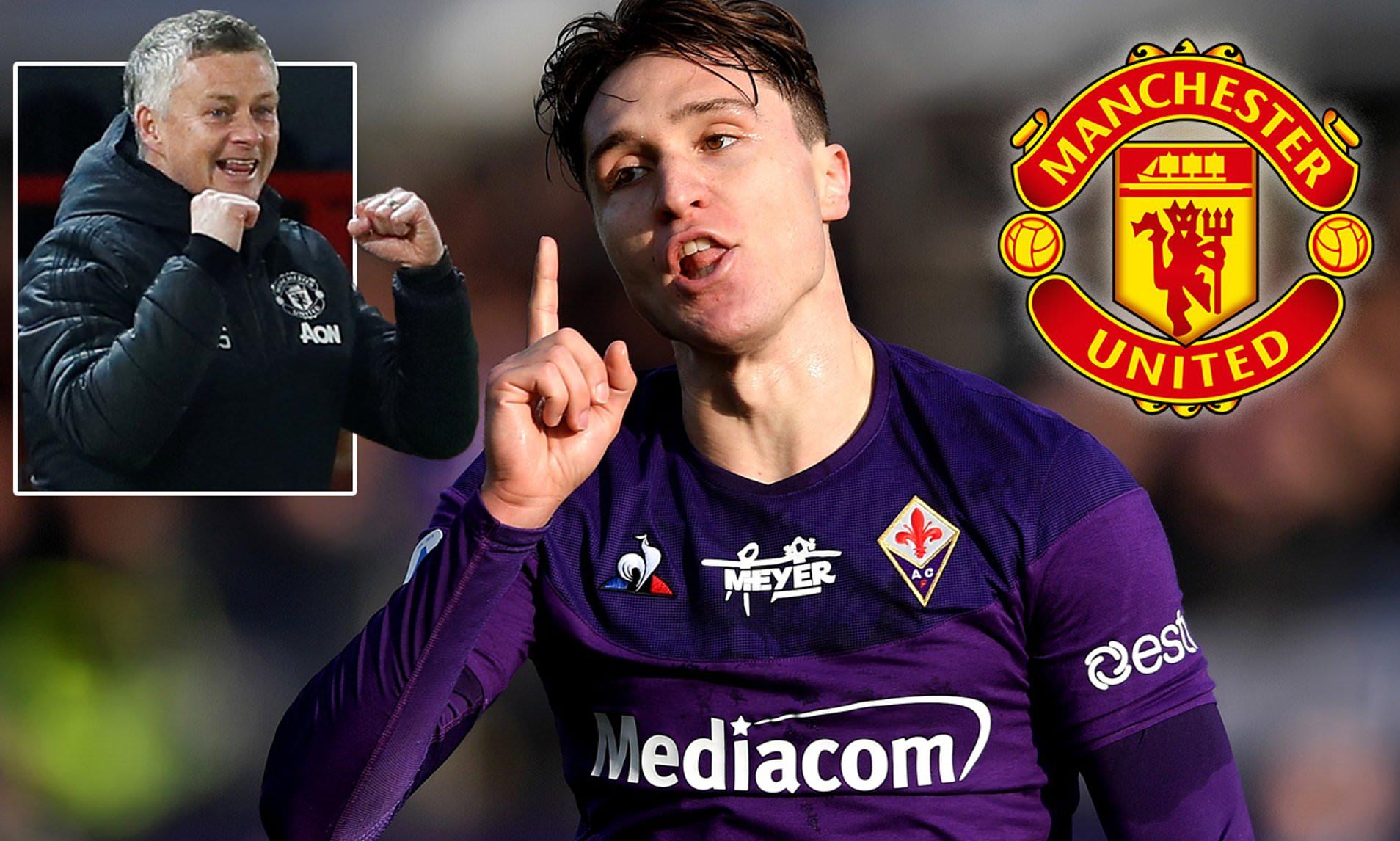 Man Utd chi 55 triệu euro cho Federico Chiesa - Bóng Đá