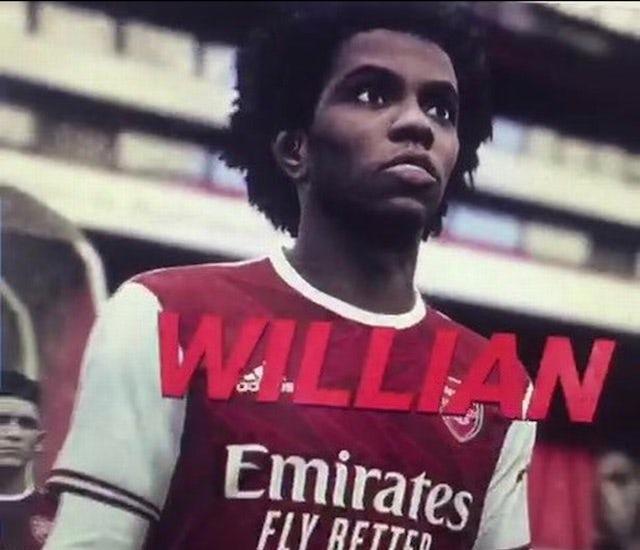 PES 2021 - Willian gia nhập Arsenal - Bóng Đá