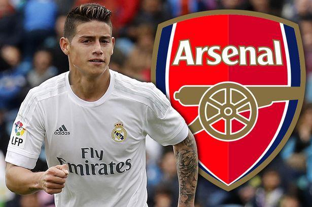 Arsenal chiêu mộ James Rodriguez - Bóng Đá