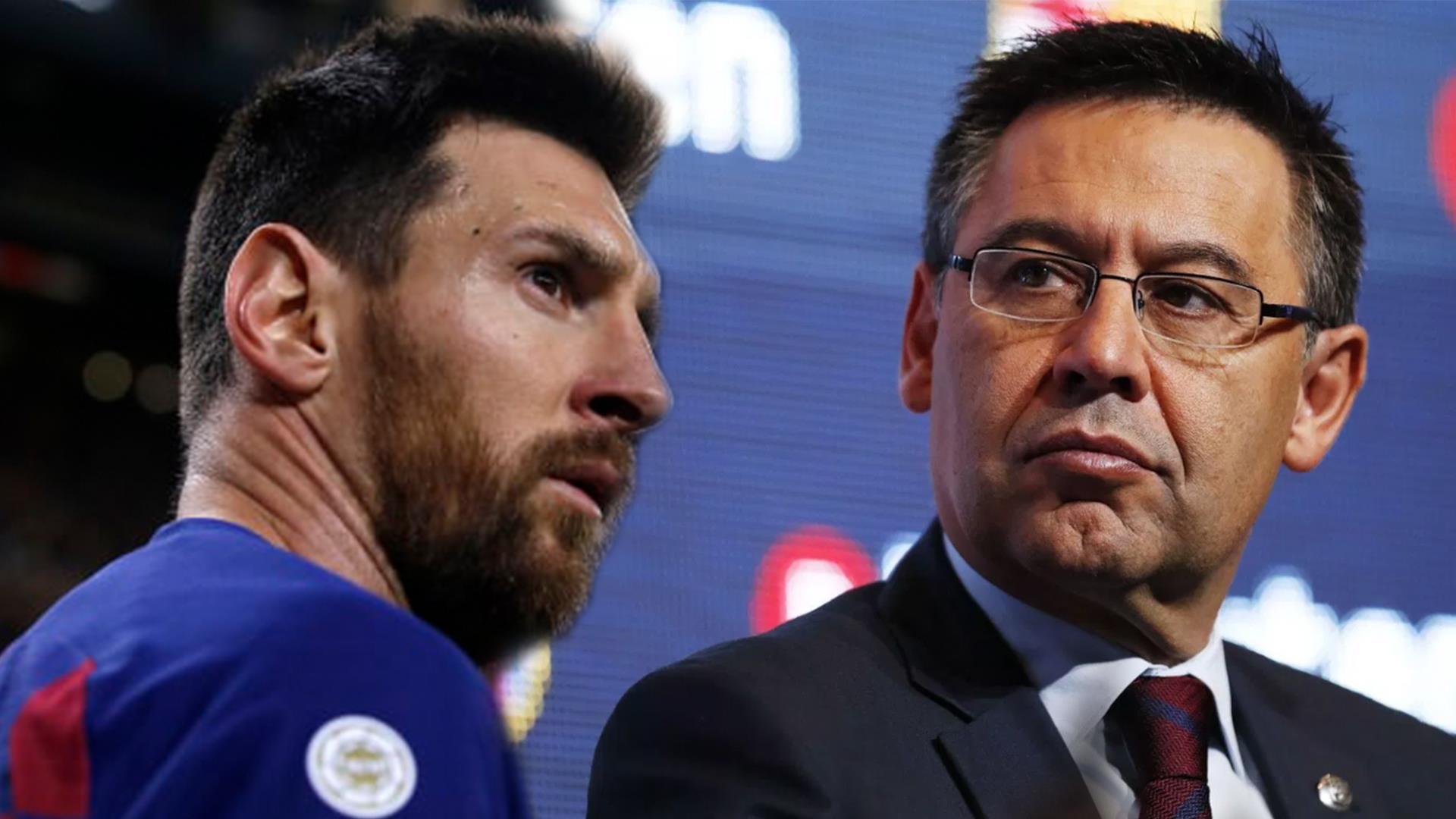 Messi trở lại, tiếp tục khiêu chiến với chủ tịch Josep Bartomeu