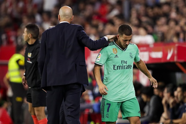 Real nổi giận với Eden Hazard - Bóng Đá