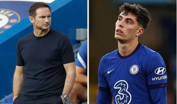 Lampard không hài lòng với Kai Havertz - Bóng Đá