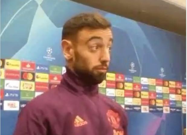 Phản ứng của Bruno Fernandes khi được chỉ định làm đội trưởng - Bóng Đá