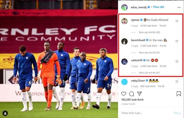 """Nc247info tổng hợp: Chelsea giữ sạch lưới 4 trận, đồng đội lập tức ra """"yêu sách"""" với Edouard Mendy"""