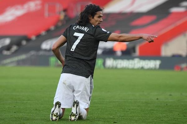 Sơ đồ chạm bóng của Cavani - Bóng Đá Bruno Fernandes