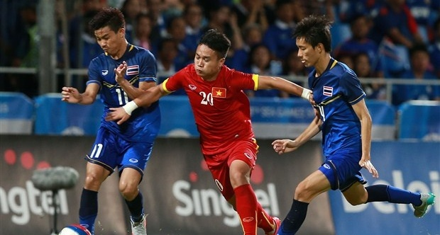 U23 Việt Nam đã có trận thua cần thiết trước U23 Thái Lan. Ảnh: Quang Thắng.