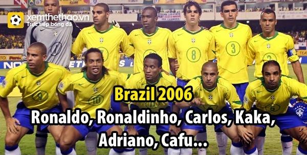 Ảnh chế: Đội tuyển Brazil đã không còn như xưa