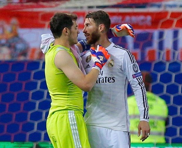 Quân số người TBN ở Real Madrid sẽ giảm xuống còn 8 người nếu Ramos và Casillas ra đi. Ảnh: Internet.