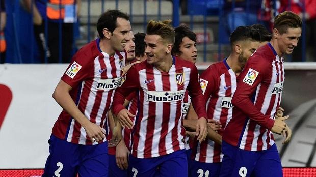 Atletico Madrid dẫn đầu La Liga nhờ vào lối chơi tập thể đoàn kết. Ảnh: Internet.