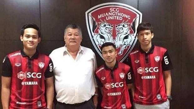 Bộ 3 tuyển thủ U23 Thái Lan tháo chạy tới á quân Thai Premier League
