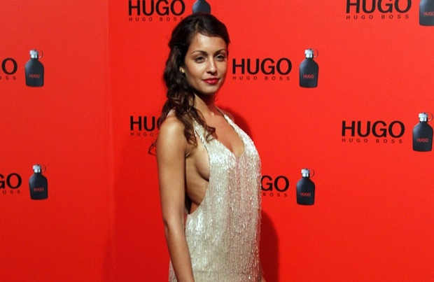 Hiba Abouk có vẻ đẹp sắc sảo. Ảnh: Internet.