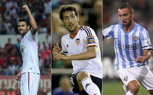 Iborra, Parejo và Darder. Ảnh: Internet.