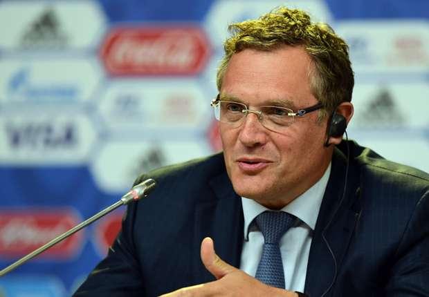 Tổng Thư ký FIFA Jerome Valcke xác nhận sẽ từ chức