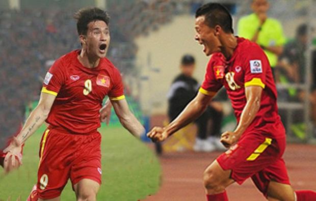 Thành Lương và Công Vinh là hai đại diện của Việt Nam lọt đội hình tiêu biểu Đông Nam Á 2014. Ảnh: Internet.