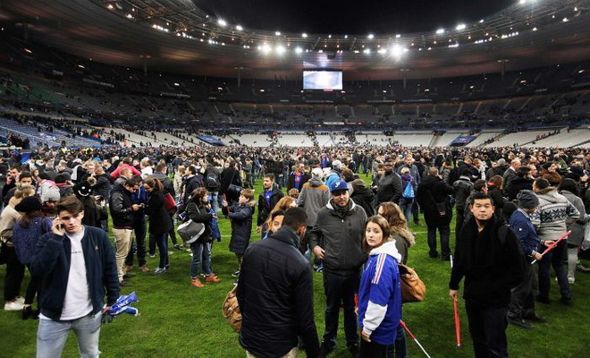 Chủ tịch LĐBĐ Pháp chia sẻ nỗi đau sau vụ khủng bố
