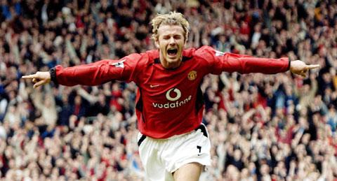 David Beckham trở thành Người đàn ông hấp dẫn nhất hành tinh