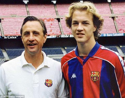 Con trai Johan Cruyff và bản hợp đồng bí ẩn của Sir Alex
