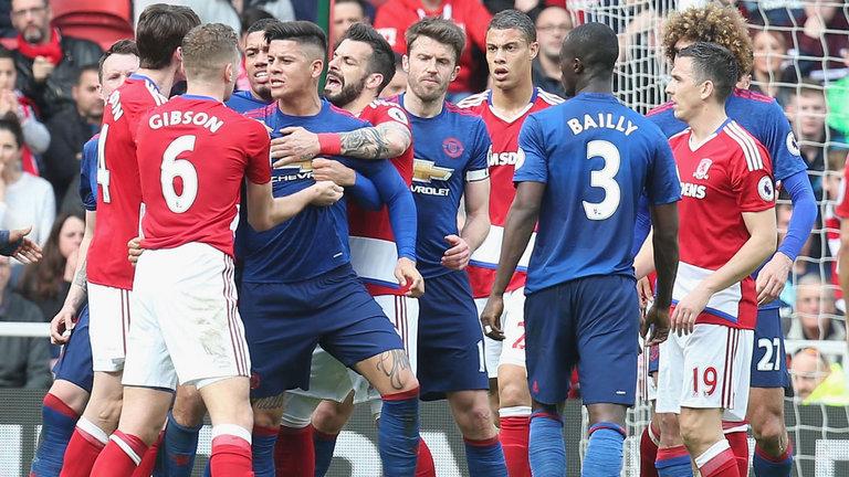 Sự thật vụ cầu thủ M.U và Middlesbrough choảng nhau - Bóng Đá