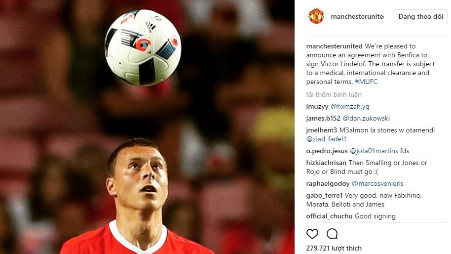 CHÍNH THỨC: Man United đón tân binh chất lượng đầu tiên - Bóng Đá